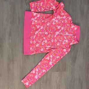 Lilly Pulitzer athleisure quarter zip
